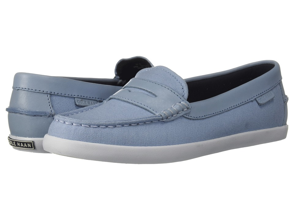 Cole Haan Pinch Weekender (Chambray Blue Canvas/Chambray Blue Leather/Optic White) Slip-On Shoes