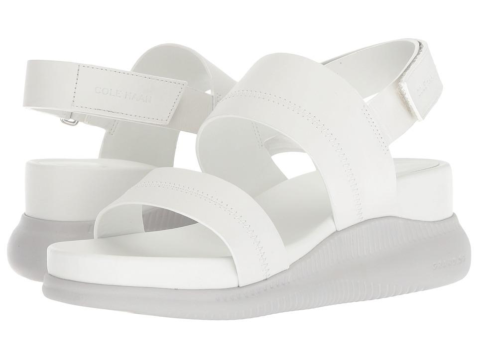 Cole Haan 2.Zerogrand Slide Sandal (Chalk Leather/Vapor Grey) Sandals