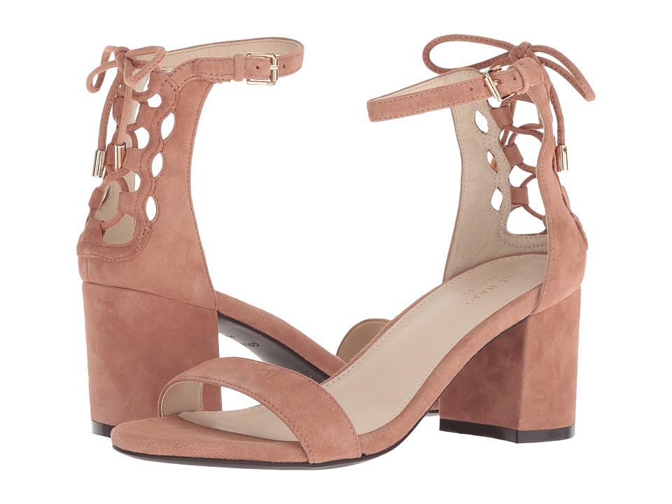 Cole Haan Leah Grand Sandal 55mm (Mocha Mousse Suede) Sandals