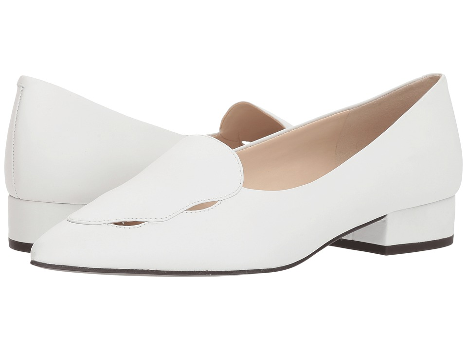 Cole Haan G.OS Leah Skimmer (White Leather) Women's Shoes