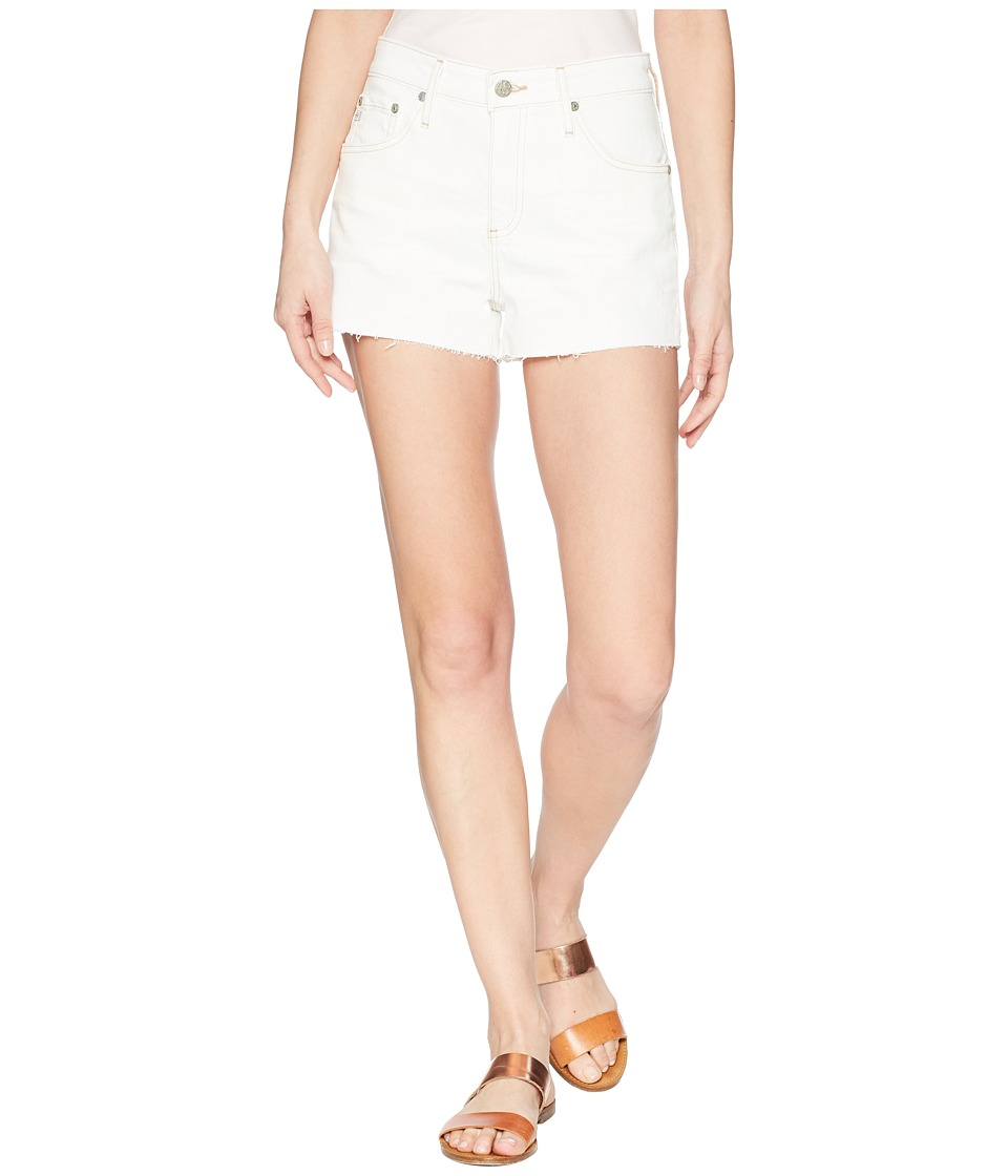 AG Adriano Goldschmied - Bryn in 1 Year Neutral White (1 Year Neutral White) Womens Shorts