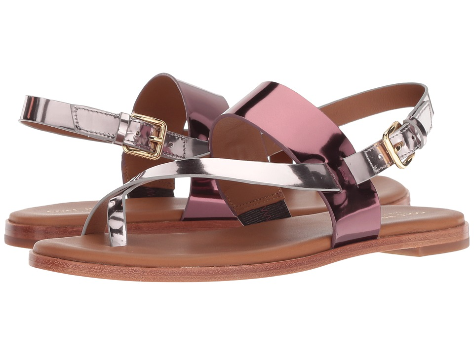 Cole Haan Anica Thong Sandal (Ch Cordovan/Wild Ginger Specchio) Women