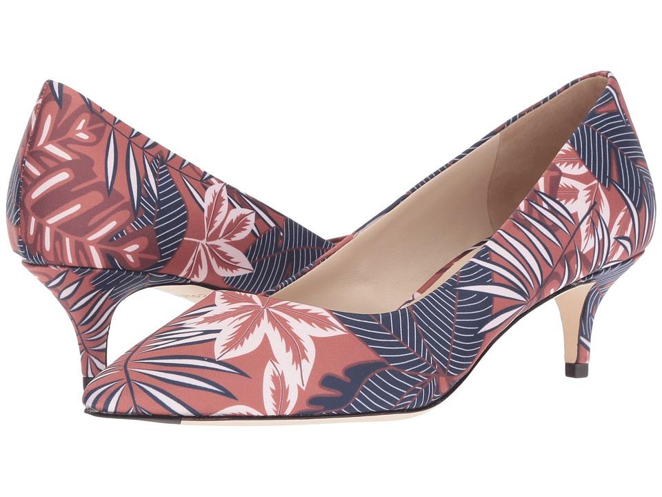 Cole Haan G.OS Vesta Pump 45mm (Tropical Palm Print Satin) Women's Shoes