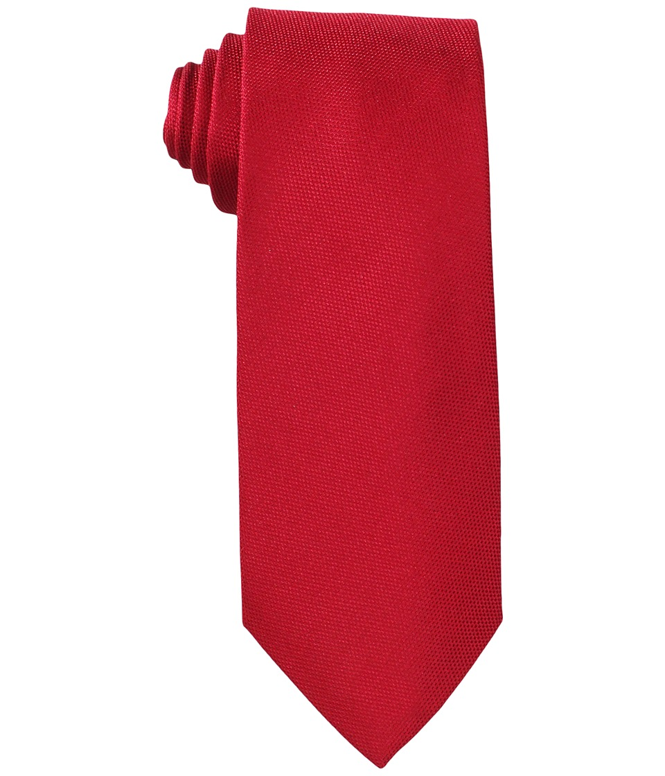 Tommy Hilfiger - Oxford Solid (Red) Ties