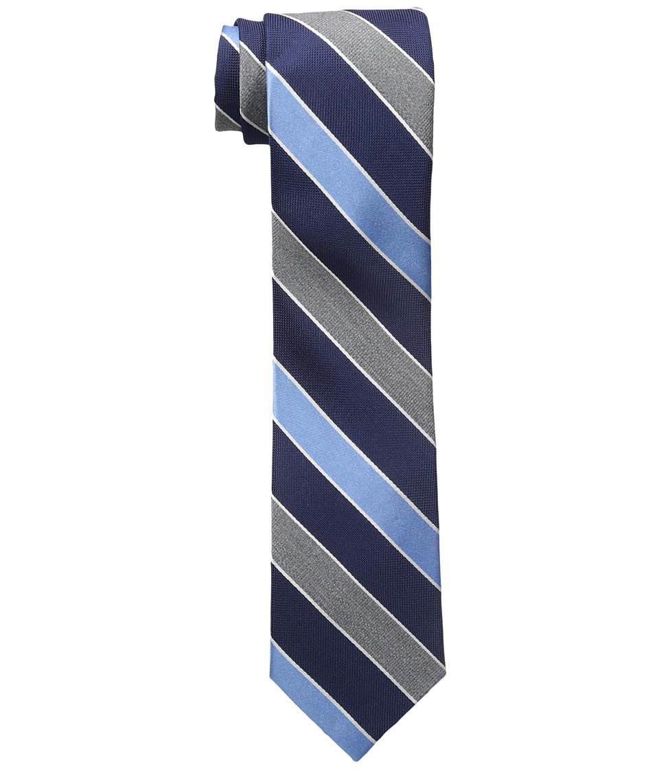 Tommy Hilfiger - Heather Stripe (Blue) Ties