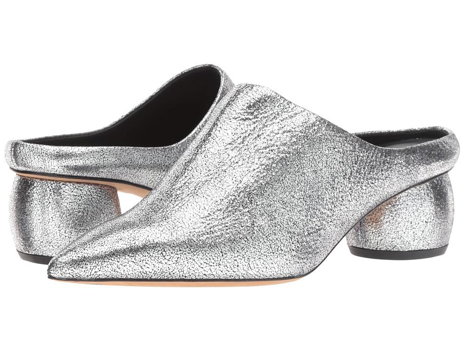Vince Eaton (Silver Metallic Leather) Women's Shoes