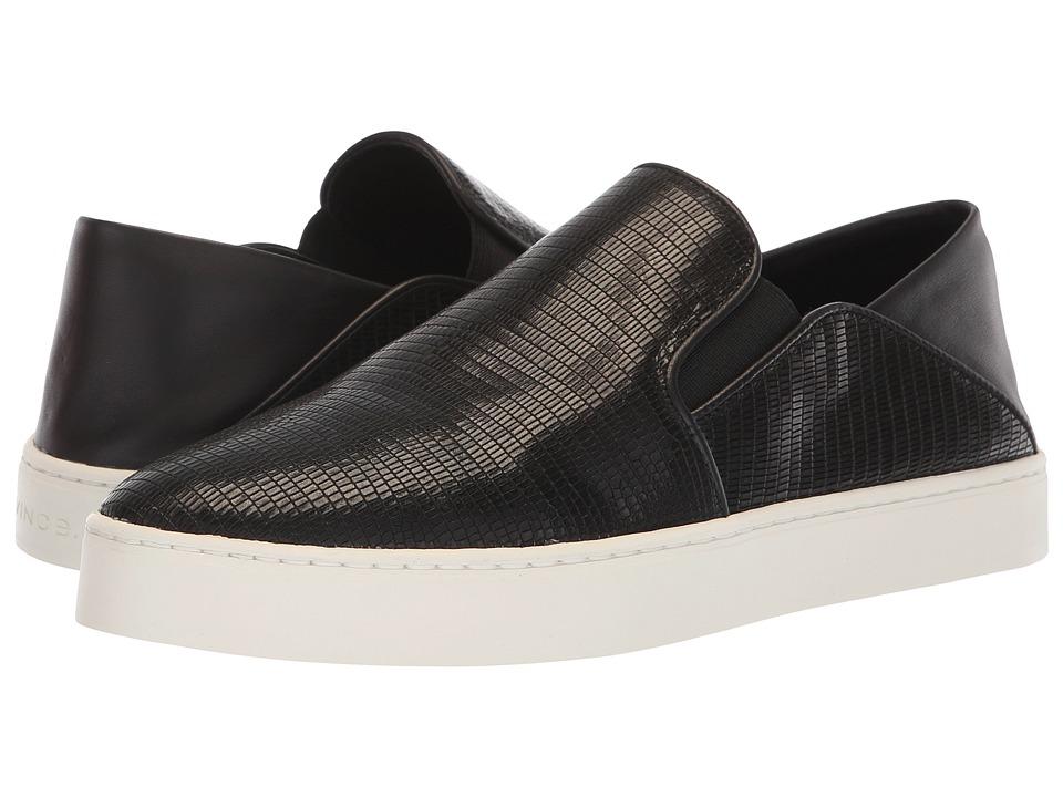 Vince Garvey (Black Embossed Lizard) Women's Shoes