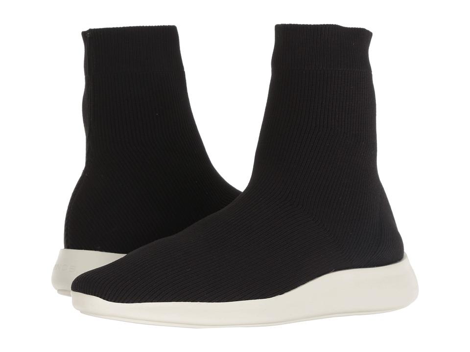 Vince Abbot (Black Knit Fabric) Women's Shoes