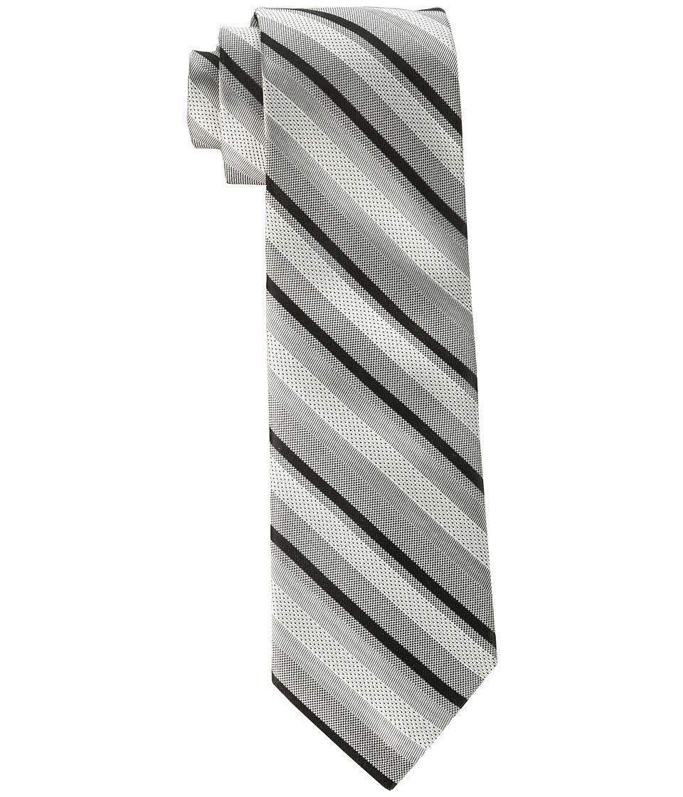 Calvin Klein - Pearlized Stripe (Black) Ties
