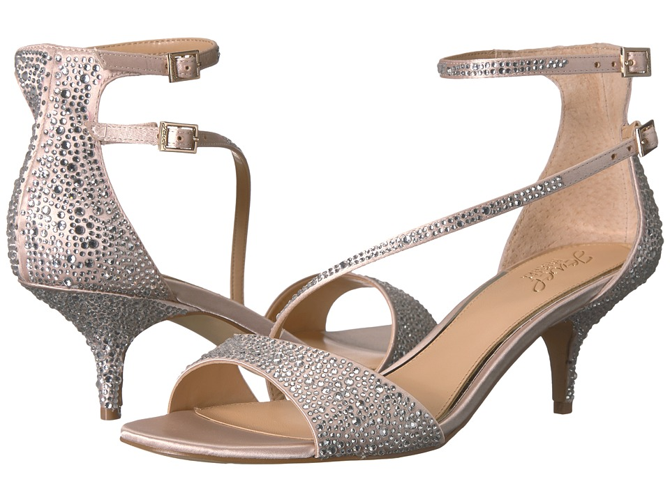 Jewel Badgley Mischka - Tangerine (Champagne) Womens Shoes
