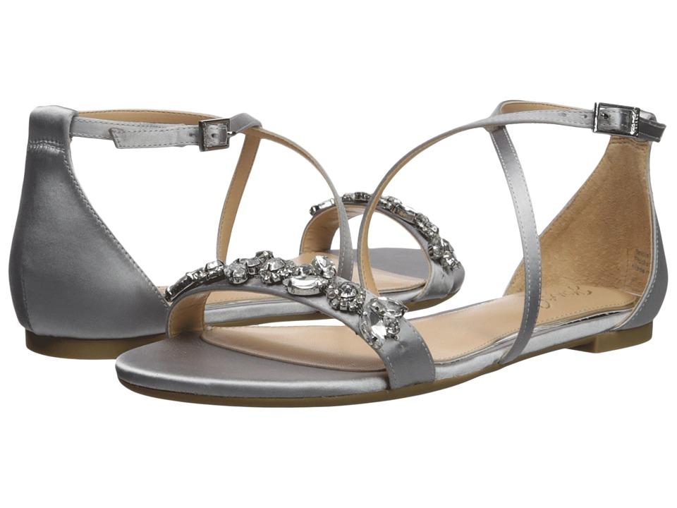 Jewel Badgley Mischka - Tessy (Silver) Womens Shoes