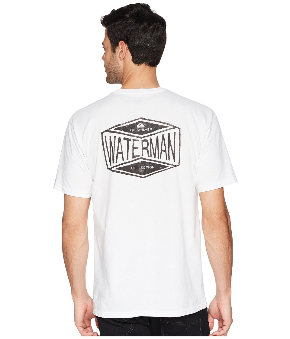 Quiksilver Waterman - 35 Miles Tee (White) Mens T Shirt