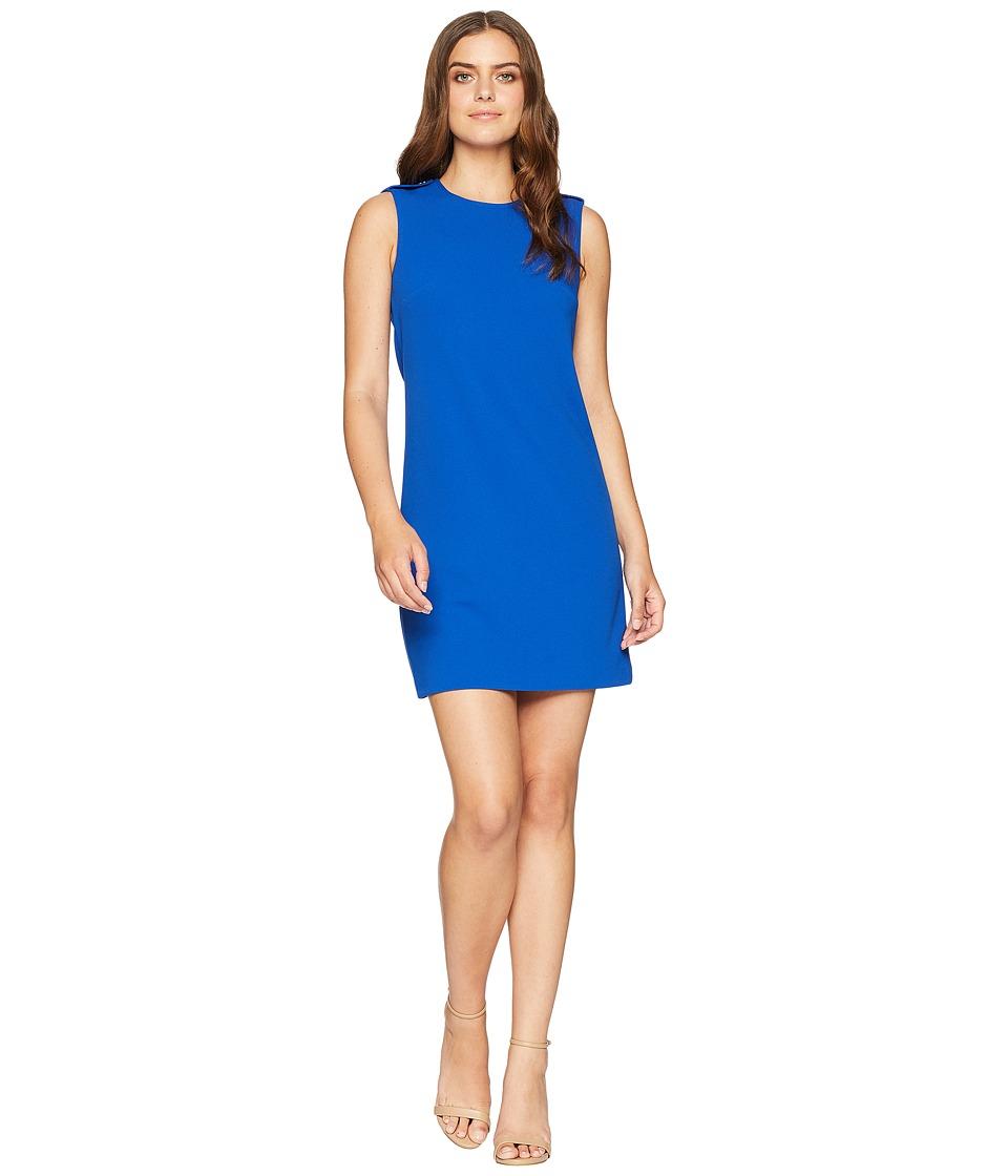 Calvin Klein - Solid Sheath Dress CD8C16MU (Regatta) Womens Dress