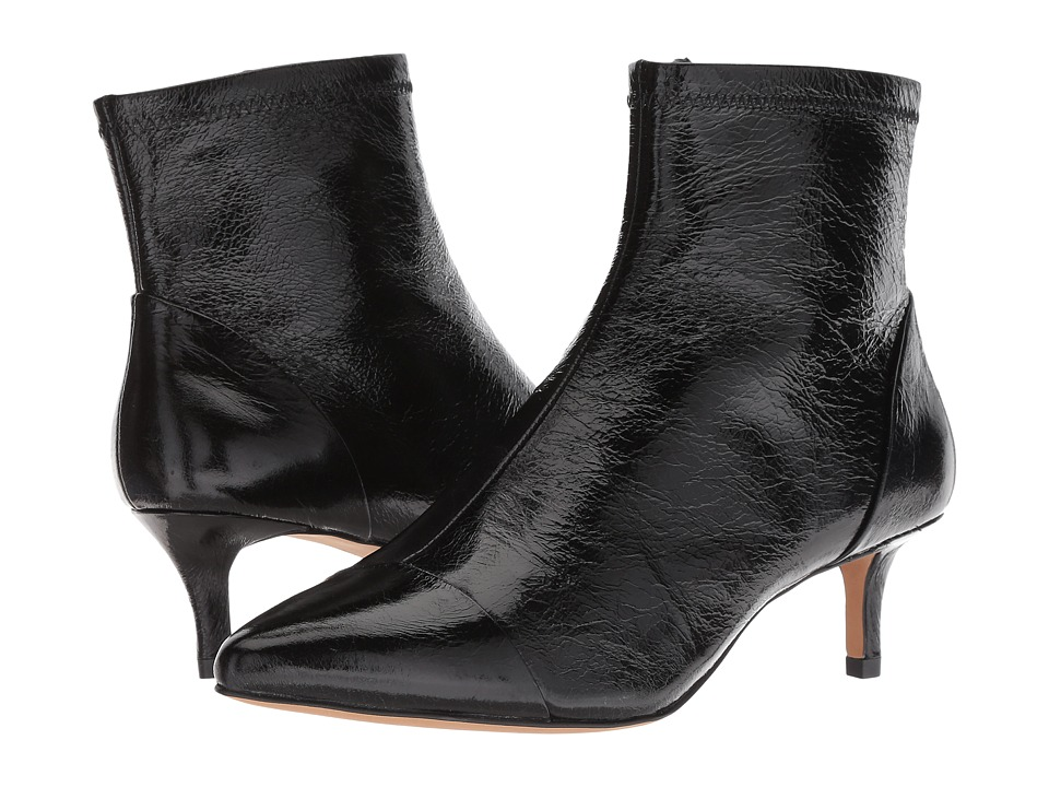 Rebecca Minkoff Siya (Black Shiny Leather)