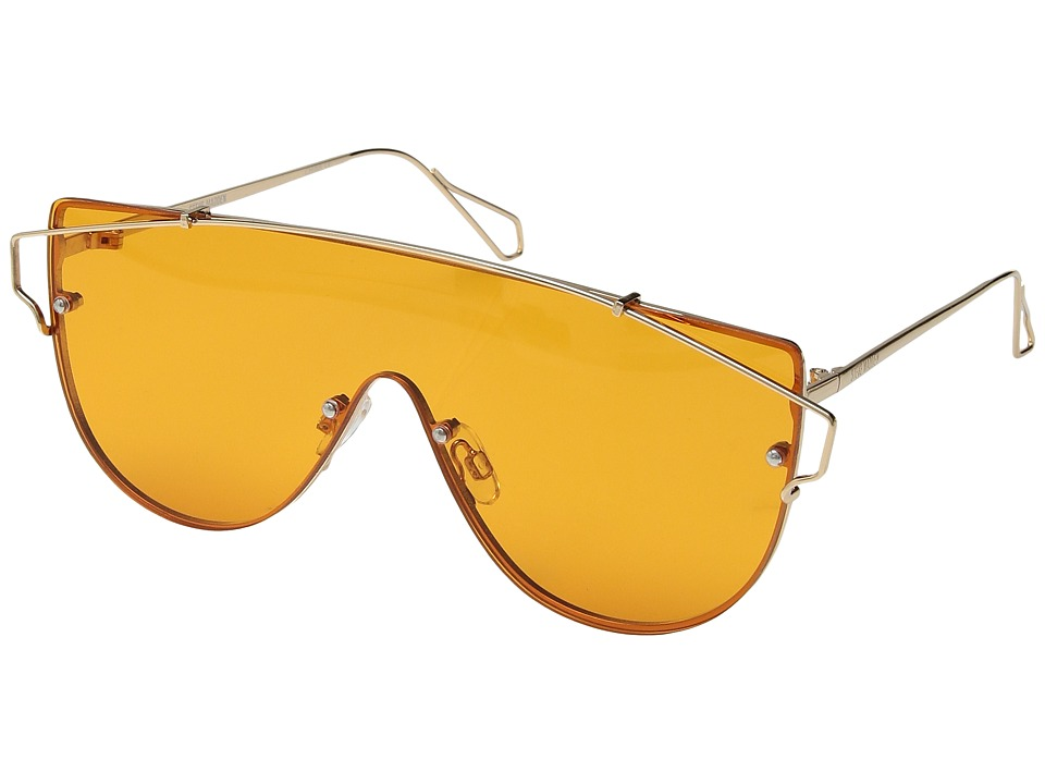 Steve Madden - Georgia (Orange/Orange Lens) Fashion Sunglasses