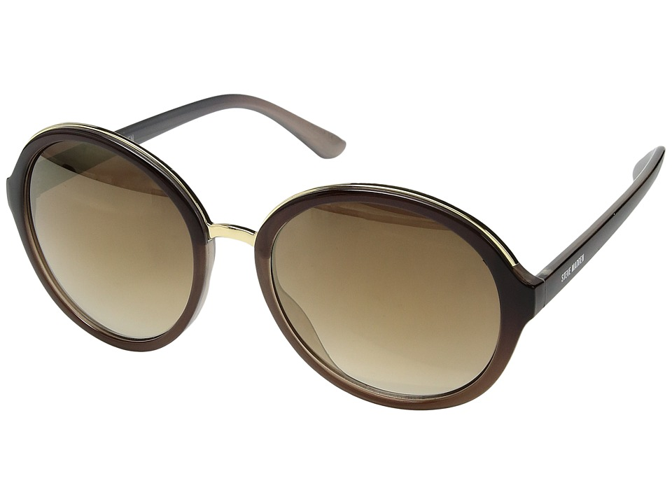 Steve Madden - Mimi (Brown/Brown Gradient Lens) Fashion Sunglasses