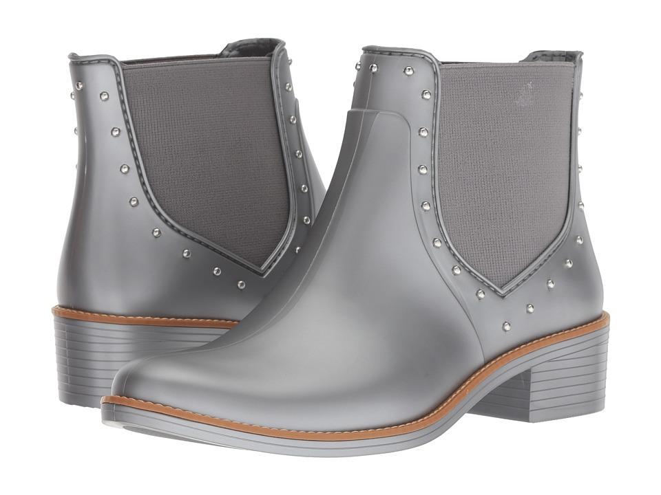 Bernardo Peyton Rain Boots (Pewter Rubber) Women's Rain Boots