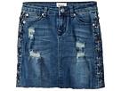 Hudson Kids Side Laced Mini Skirt (Big Kids)