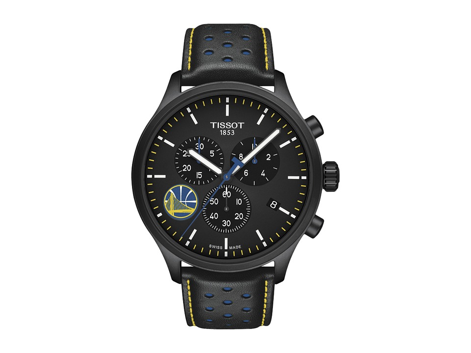 Tissot - Chrono XL NBA Golden State Warriors Championship Edition - T1166173605102 (Black/Black/Blue) Watches