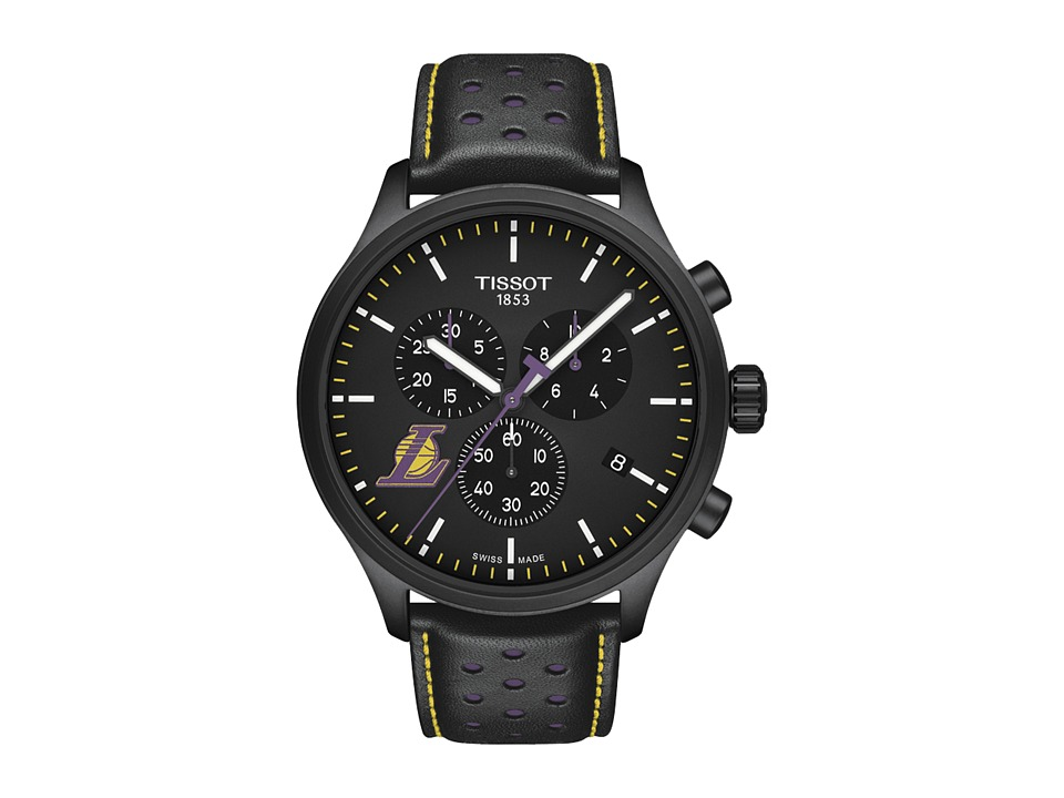 Tissot - Chrono XL NBA Chronograph La Lakers - T1166173605103 (Black/Black/Purple) Watches