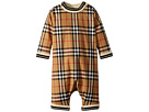 Burberry Kids Burberry Kids Michael Long Sleeve Overalls (Infant)