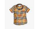 Burberry Kids Burberry Kids Fred Short Sleeve Top (Infant/Toddler)