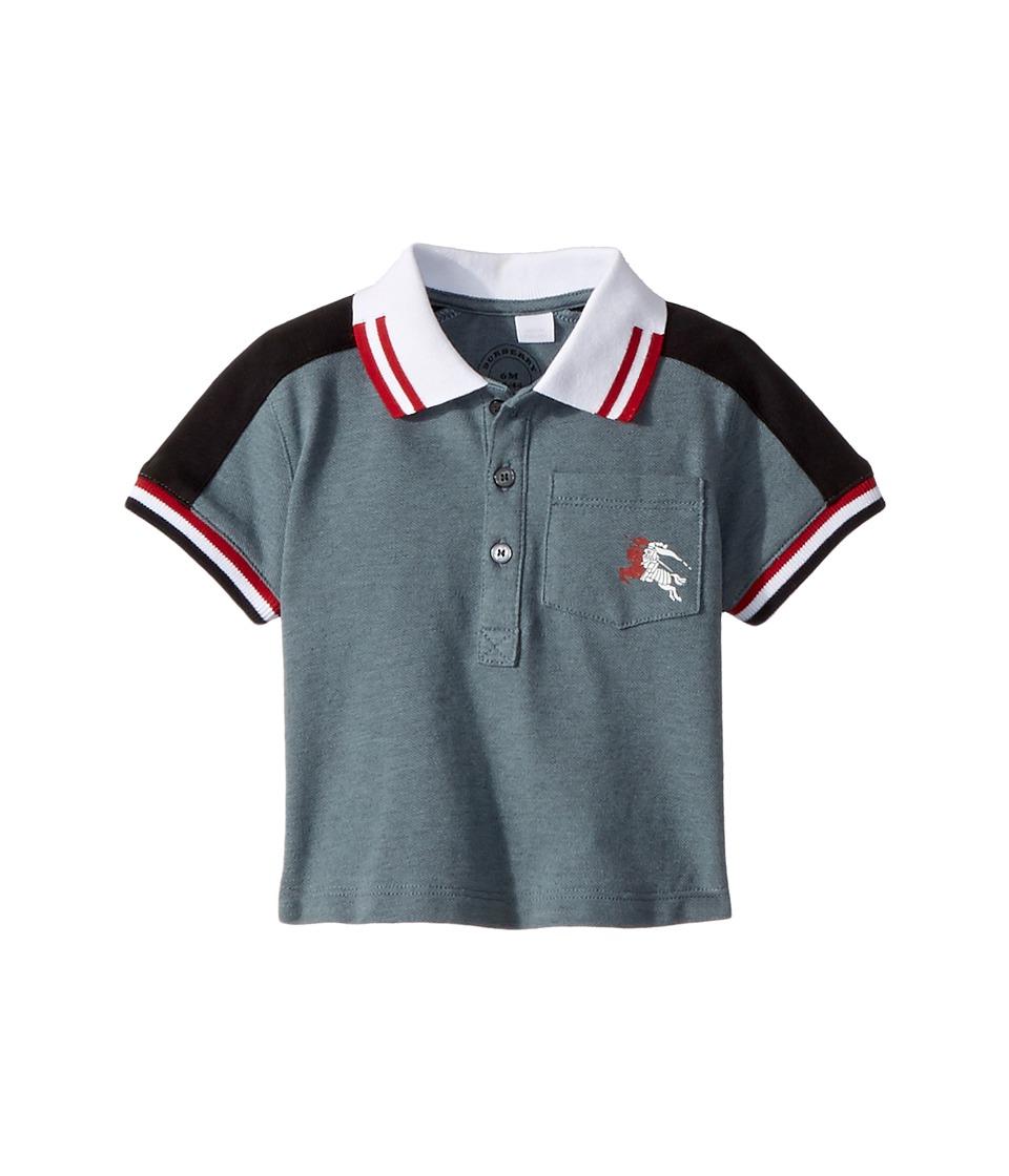 Burberry Kids - Kai Polo ACBOK Top (Infant/Toddler) (Powder Blue) Boys Clothing