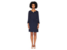 Rebecca Taylor Long Sleeve Georgette Ruffle Dress