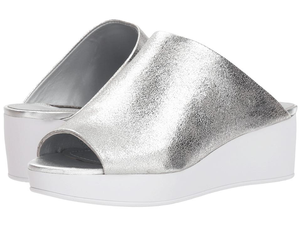 Donna Karan Reisley (Silver Foil Metallic) Women's Shoes