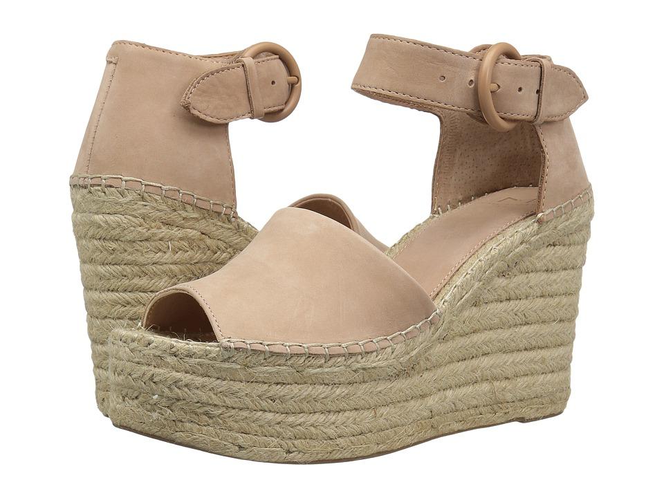 Marc Fisher LTD Alida Espadrille Wedge (Light Pale Rust Kid Suede) Women's Shoes