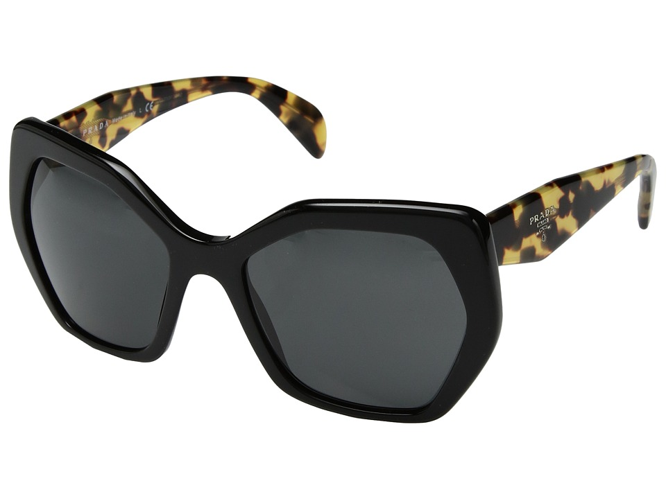 Prada - 0PR 16RS (Black) Fashion Sunglasses
