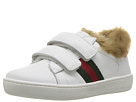 Gucci Kids New Ace Faux Fur Sneaker (Toddler)