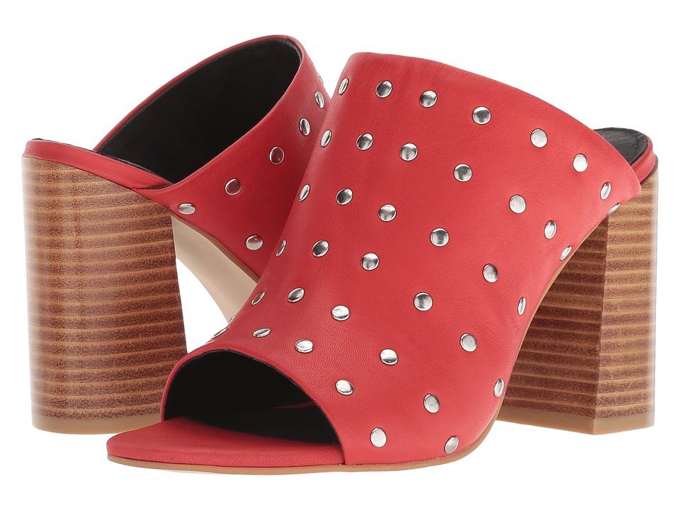 Sol Sana Charlotte Stud Mule (Red Stud) Women's Clog/Mule Shoes
