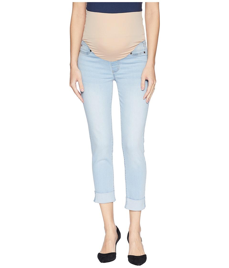 Liverpool - Maternity Crop Wide Cuff in Premium Super Stretch Denim in Mansfield (Mansfield) Womens Jeans