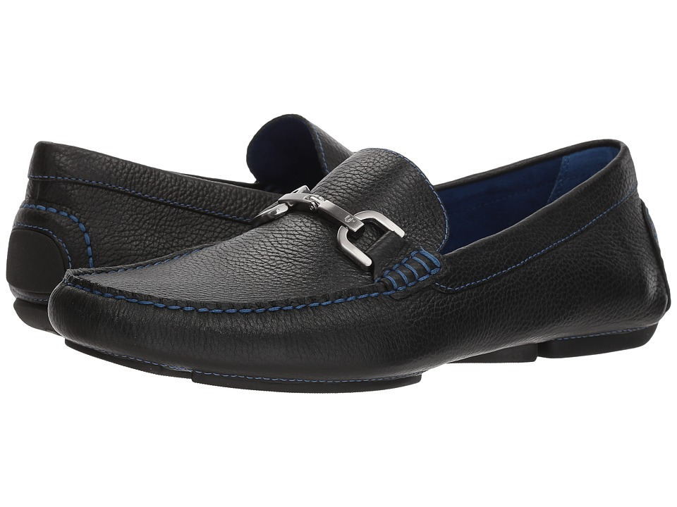 Donald J Pliner - Viro 2 (Black 1) Mens Slip on  Shoes