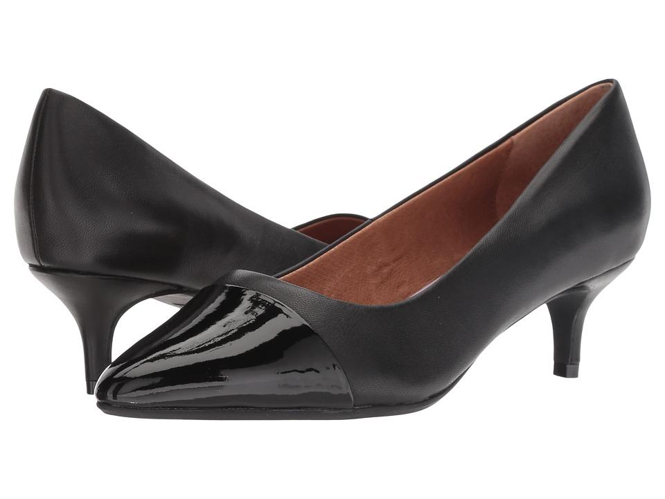Sudini Brees (Black Glove/Patent) Slip-On Shoes