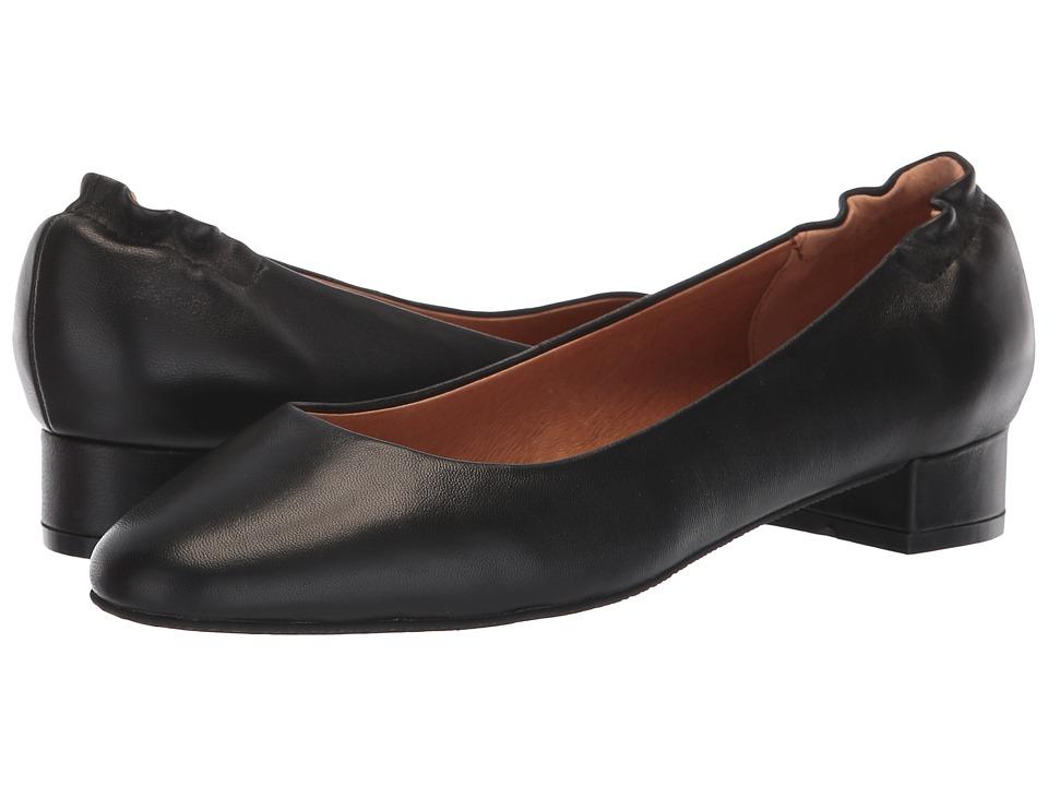 Sudini Zabel (Black Glove Leather) Slip-On Shoes