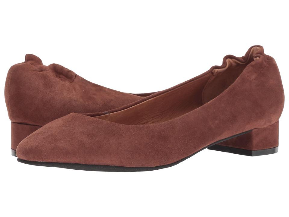 Sudini Zabel (Cognac Kid Suede) Slip-On Shoes