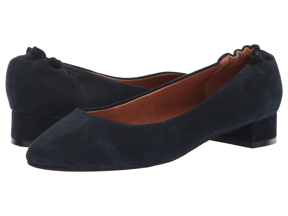 Sudini Zabel (Navy Kid Suede) Slip-On Shoes