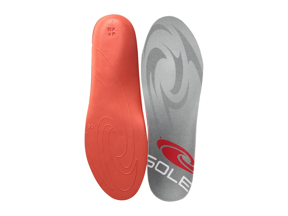 SOLE - Softec Response (Dark Red/Red) Insoles Accessories Shoes
