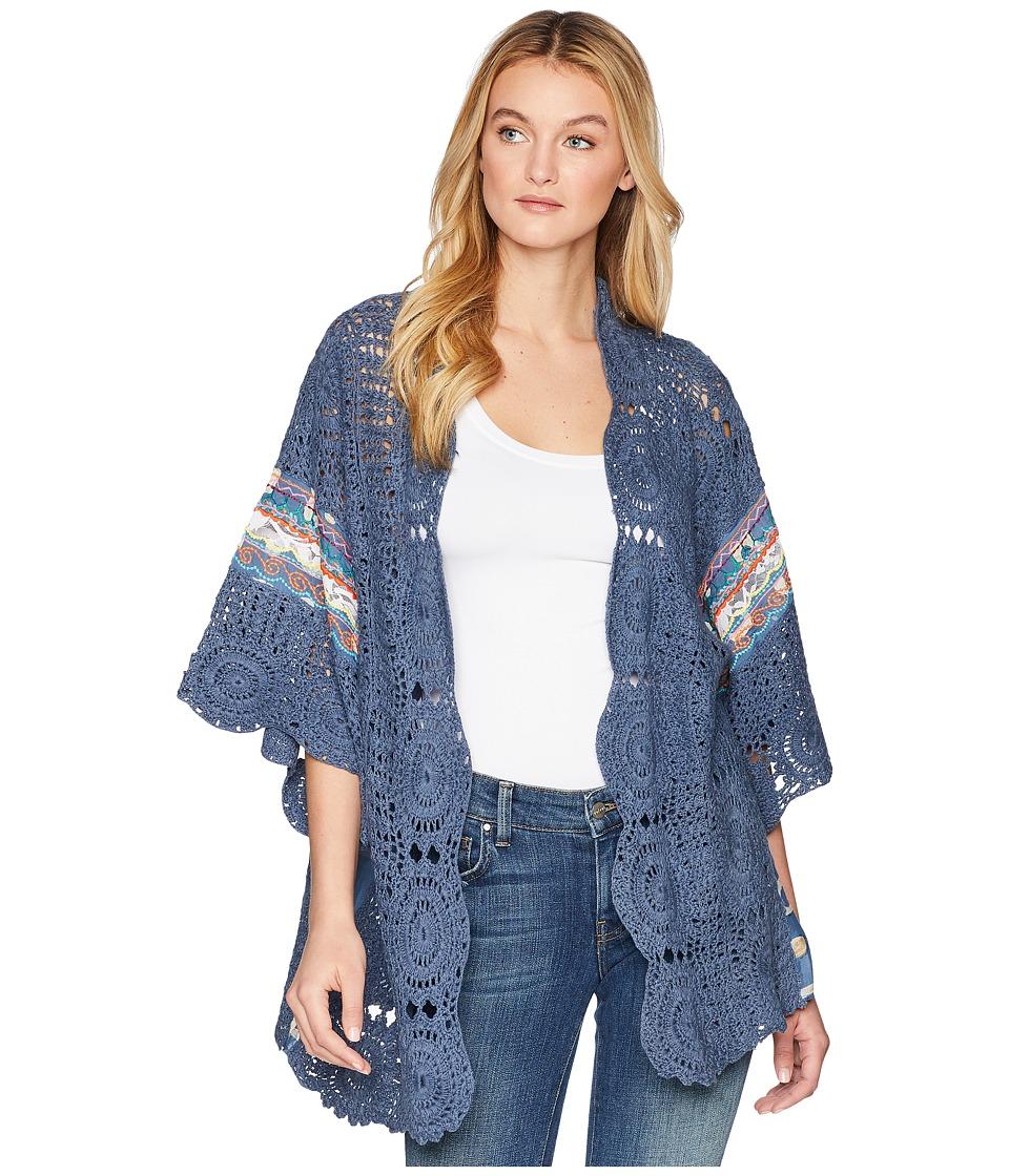 Free People - Holi Crochet Kimono (Multi) Womens Clothing