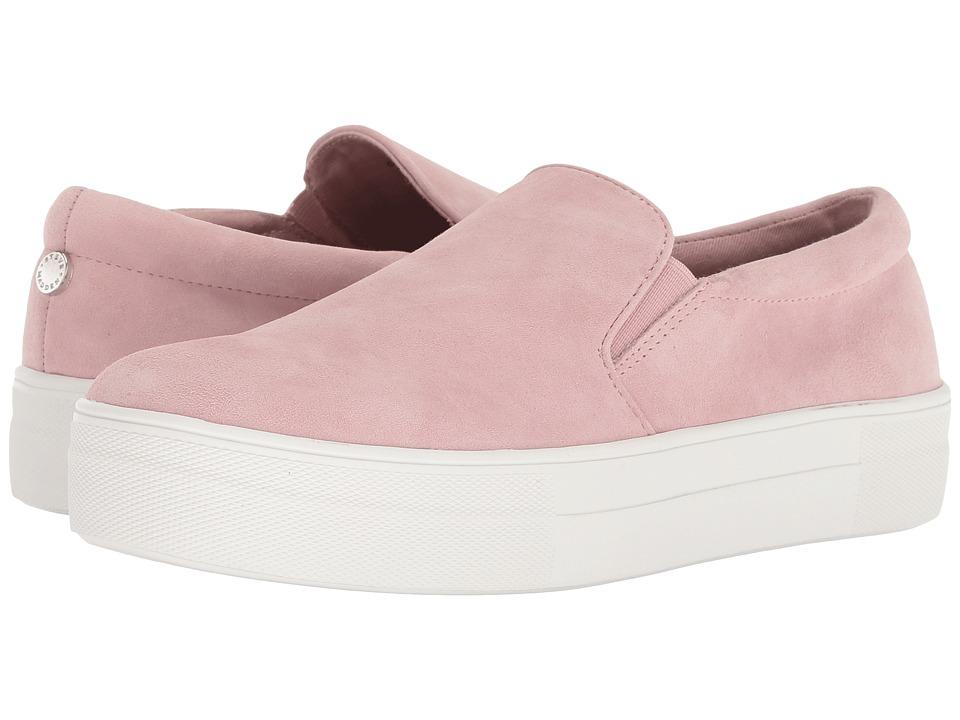 Steve Madden Gills Sneaker (Blush Suede) Women's Shoes