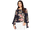 Vince Camuto Vince Camuto Tie Cuff Bubble Sleeve Blouse