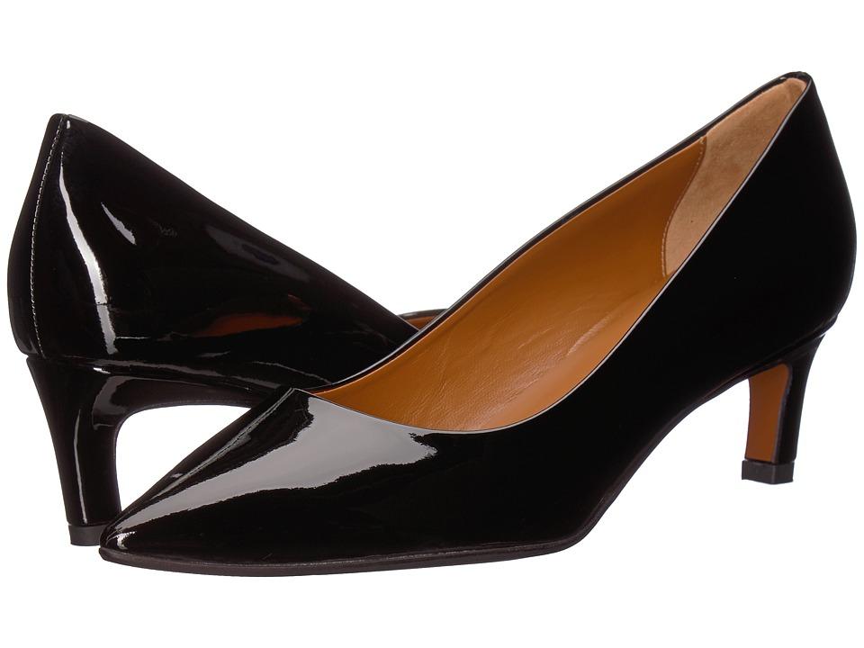 Aquatalia Marianna (Black Patent) 1-2 inch heel Shoes
