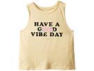 Spiritual Gangster Kids Good Vibe Day Cut Off Tank Top (Toddler/Little Kids/Big Kids)