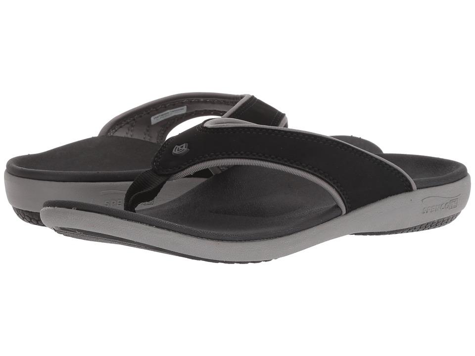 Spenco Yumi Plus (Onyx) Women's Shoes