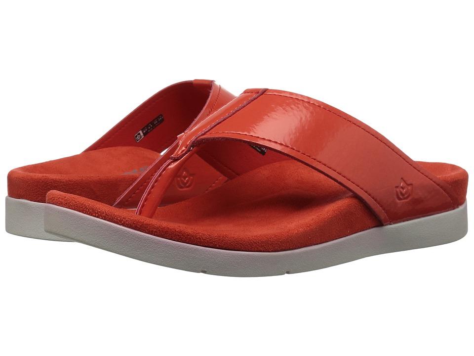 Spenco Hampton Sandal (Cherry Tomato) Women's Shoes