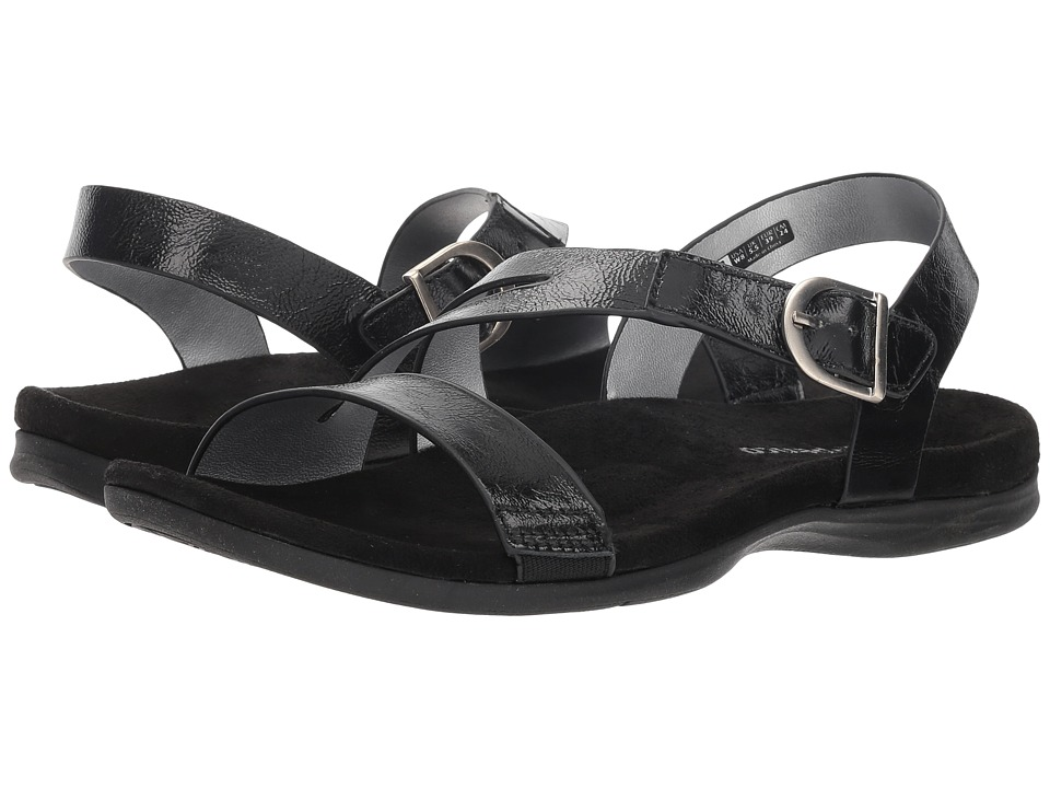 Spenco Roxbury Sandal (Black) Women's Shoes