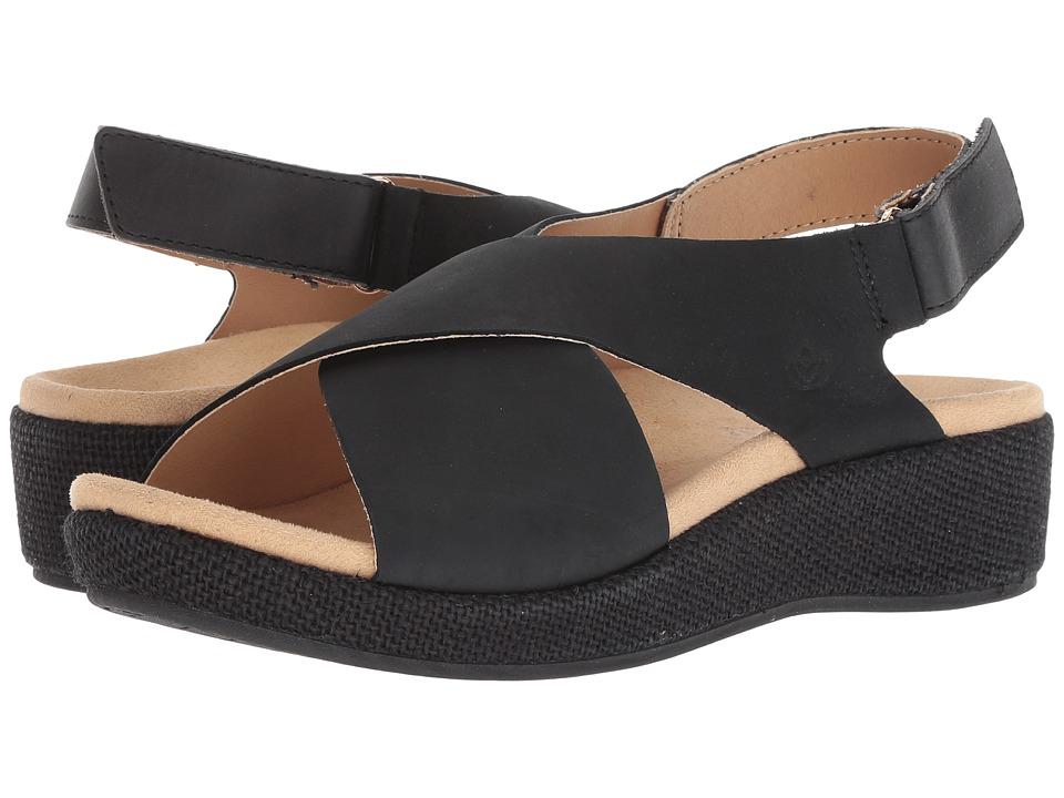 Spenco Marfa (Black) Women's Shoes