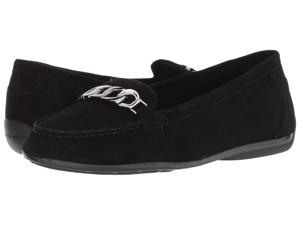 Easy Spirit Antiria (Black/Black) Women's Shoes